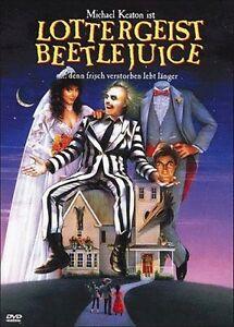 Lottergeist Beetlejuice  *DVD *  mit Michael Keaton , Alec Baldwin  NEU / OVP