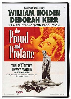 The Proud and Profane 1956 DVD - Thelma Ritter, Deborah Kerr, William Holden