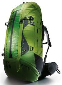 Great condition Women's Green Quechua Forclaz 70 + 10 L Symbium 4 Rucksack / Backpack