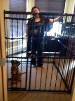 HUGE indoor/outdoor dog crate **Price reduced**