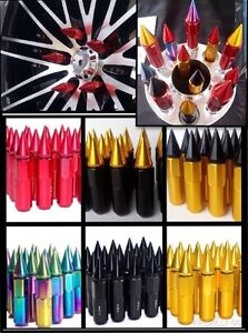 Extended Wheel Lug Nuts 12x1.5 and 12x1.25mm