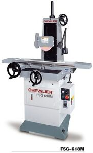 Chevalier Precision Hand Feed Surface Grinder FSG-618M