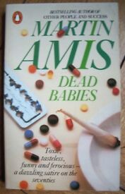 3 books by Martin AMIS