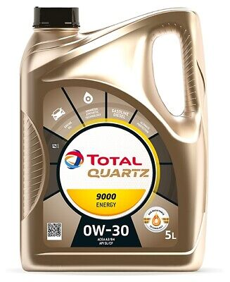 Total | Motoröl Quartz 9000 Energy 0W-30 (5 L) Synthetiköl (213686) für
