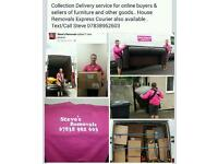 Home Removals Man and Van Collection Delivery Service