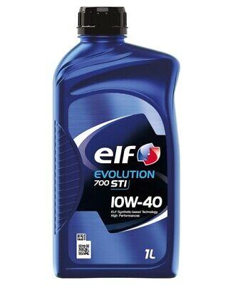 elf | Motoröl Evolution 700 STI 10W-40 (1 L) (214125) für motorenöl auto