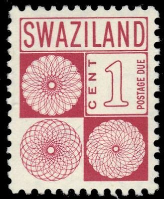 "SWAZILAND J10 (SG D13) - Numeral of Value ""Postage Due"" (pa83968)"