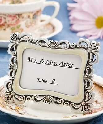 64 Flourish Design Place Card Frames Wedding Placecards Party Placecard holders
