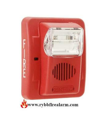 Gentex Gec3-24wr Red Wall Horn Strobe Free Shipping The Same Day