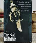 The Godfather plaat retro metalen poster schilderij