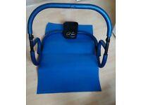 Ab exerciser + mat