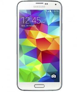 SAMSUNG GALAXY S5 SM-G90W8 UNLOCKED/DEBLOQUE ANDROID WIFI TELEPHONE FIDO ROGERS TELUS BELL KOODO VIDEOTRON CHATR AFRIQUE