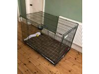 Xxl giant dog crate cage crufts