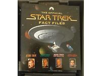The official star trek fact files - partwork magazine - over 300 issues