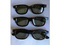 3d glasses cinema watching movie