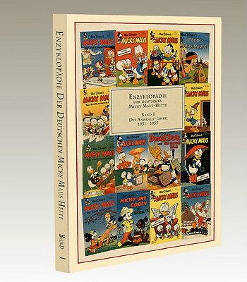 ENZYKLOPÄDIE Der Deutschen Micky Maus-Hefte Band 1 / 1951 - 1955 NEU (WR8)