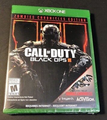 Call of Duty Black Ops III [ Zombies Chronicles Issue ] (XBOX ONE) NEW