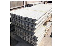 Concrete fence post various sizes