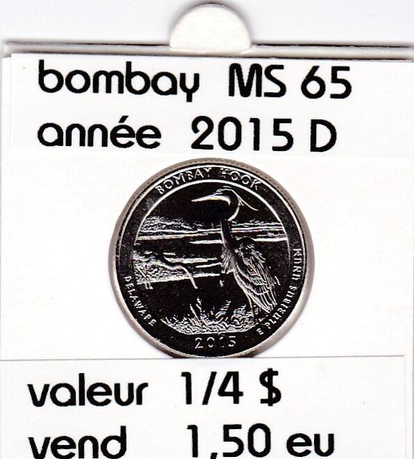 bombay  2015 D   voir description