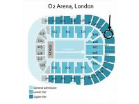 Green Day Concert @ The O2 on 8 Feb - 2 Tickets