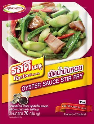 Ajinomoto RosDee Menu Oyster Sauce Stir Fry Seasoning