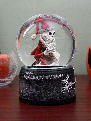 NECA Nightmare Before Christmas BEARD SANTA JACK Snow globe Waterball Burton Bub