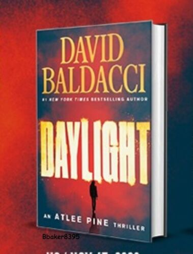 ✔ New DAYLIGHT by David Baldacci ( HARDCOVER + Jacket) First Edition, Retail Ed.