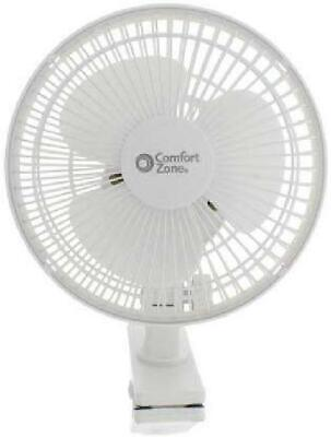 Small Personal Fan Clip On 2 Speed Portable Home Office Tabl
