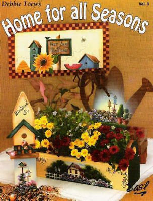Home For All Seasons Vol. 3 Debbie Toews Tole Painting Books