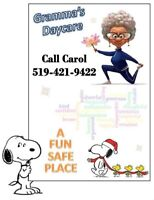 Daycare spots available!