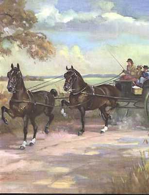 Hackney Horse Print - 1951 W. Dennis for sale  Tampa