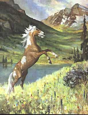 Mustang Horse Print - 1951 W. Dennis