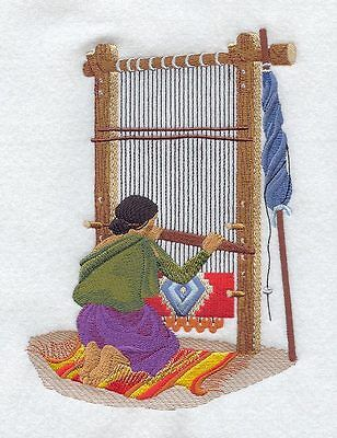 Weaving Loom Quilt Block ---machine Embroidered Quilt Block (azeb)