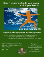 Eight Week Beginners Yoga Course – with John and Michelle