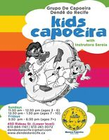 Kids Capoeira Classes (ages 3 to 5) and (ages 7 to 10)