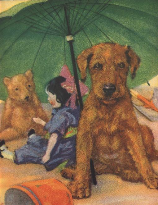 Irish Terrier Puppy - Dog Print - Diana Thorne