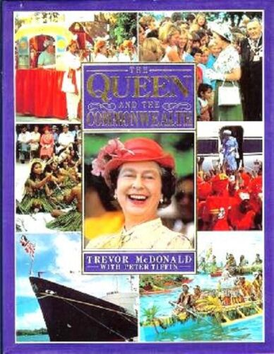 Queen Elizabeth and The Commonwealth English Royalty British Empire HBDJ book