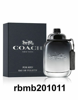 Coach New York Cologne For Men 3 3 Oz   100 Ml Edt Spray New Retail Sealed Box