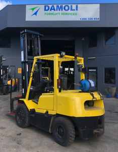 Hyster 4T Forklift with Pneumatic tyres Laverton North Wyndham Area Preview