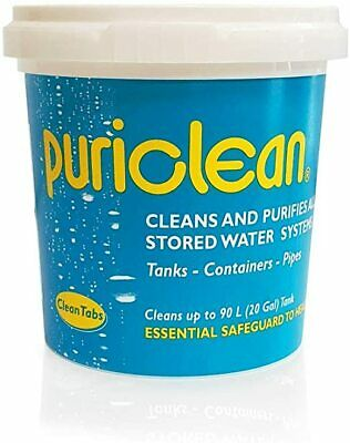 Puriclean Water Purifier 100g for Boats, Camping & Caravans