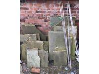Quantity of York Stone