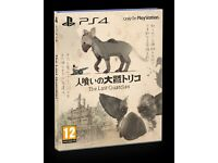 The Last Guardian Exclusive Lauch Edition Playstaion 4 game