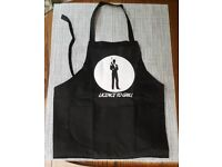James Bond Style Apron 'Licence To Grill' BRAND NEW!