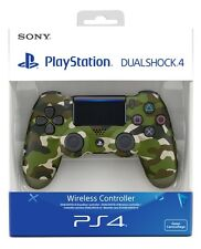 New DualShock 4 Green Camouflage Wireless Controller V2