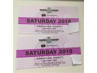 X2 goodwood festival of speed Saturday tickets.