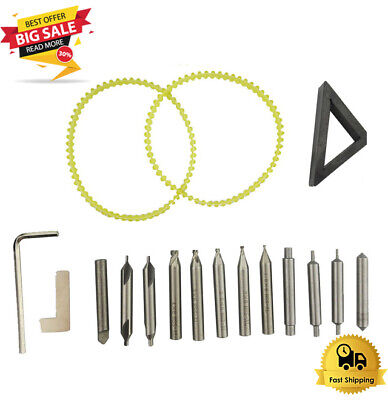 New Drill Bits Steel Set Cutter Locksmith Tool Vertical Key Machine Spare Parts