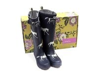 Brand New in Box Joules Wellies Size 6