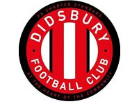 Didsbury FC - Players wanted for Saturday teams