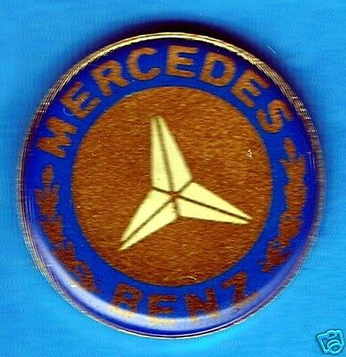 Automotive collectibles - Mercedes Benz logo tac style pin (Version Two)