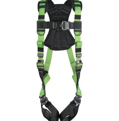 Vest Safety Harness New Body Fall Protection Snap-in Easy Wear Green Harness